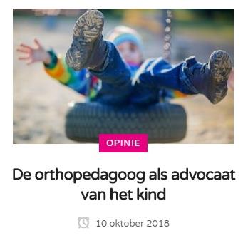 Orthopedagoog als advocaat van het kind