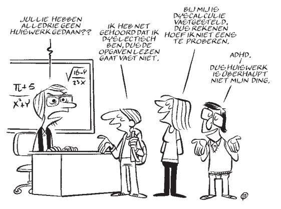 Illustratie De Pedagoog Jan Dirk Barreveld