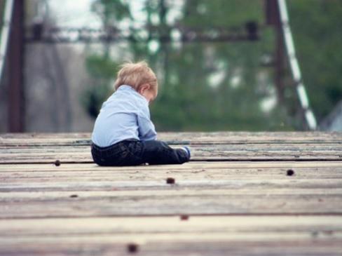 Foto Het gelabelde kind
